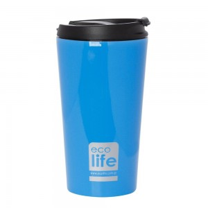 Coffee Thermos 370ml Sky Blue