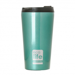 Coffee Thermos 370ml Light Blue