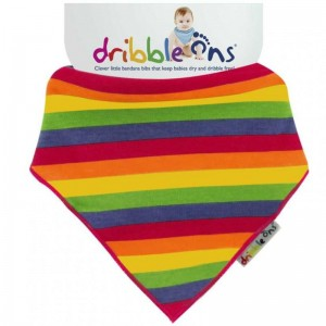 Σαλιάρα Dribble Ons Printed Rainbow
